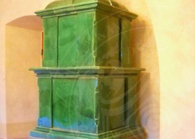 Zámecká kachlová kamna
