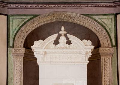Renovace sloupových historických kamen